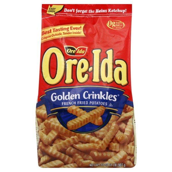 Ore-Ida Golden Crinkle French Fries 32